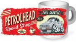 Koolart PERTOLHEAD SPEED SHOP Design For Retro Ford Capri 2.8i Ceramic Tea Or Coffee Mug